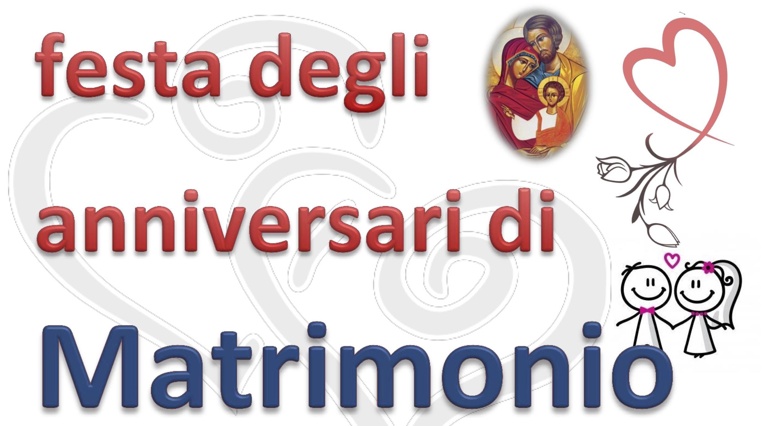 Festa Di Anniversario Di Matrimonio.Festa Degli Anniversari Di Matrimonio Oratorio Don Bosco Agnelli